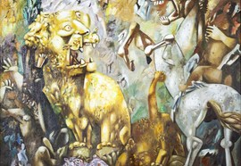 Img_0827_brusilovsky_m._hunting_lions._2005.__oil_on_canvas._125%d1%85125_%d1%81%d0%bc